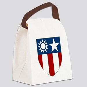 China Burma India Theater Canvas Lunch Bag