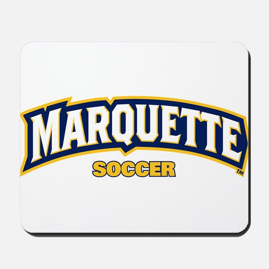 Marquette Golden Eagles Soccer Mousepad