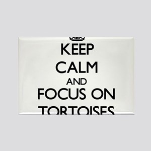 Keep Calm by focusing on Tortoises Magnets