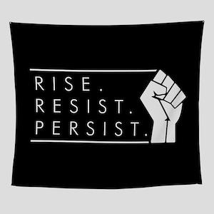 Rise. Resist. Repeat. Wall Tapestry