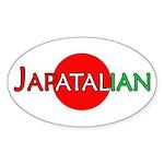 Japatalian Oval Sticker