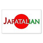 Japatalian Rectangle Sticker