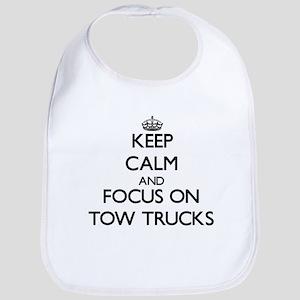 Keep Calm by focusing on Tow Trucks Bib