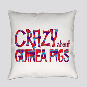 Crazy About Guinea Pigs Everyday Pillow