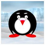 Little Fat Penguin Wall Art