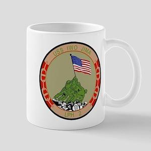 USS IWO JIMA 11 oz Ceramic Mug