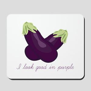 Purple Veggie Mousepad