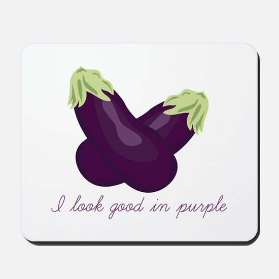 Purple Veggie Mousepad