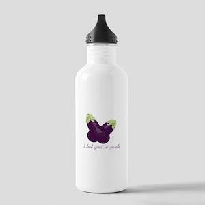 Purple Veggie Water Bottle