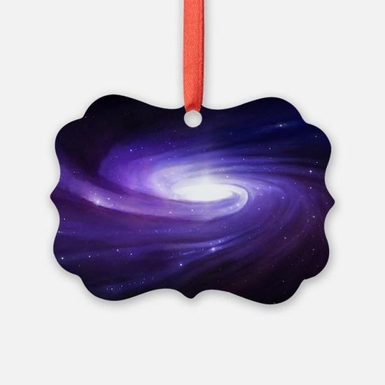 Purple Vortex Ornament