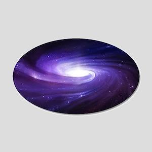 Purple Vortex Wall Decal