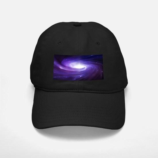 Purple Vortex Baseball Hat