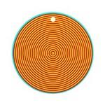 Spiral Round Ornament