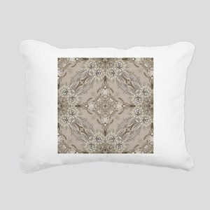 glamorous girly Rhinesto Rectangular Canvas Pillow