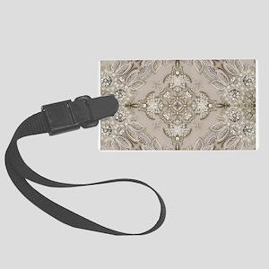 glamorous girly Rhinestone lace Large Luggage Tag