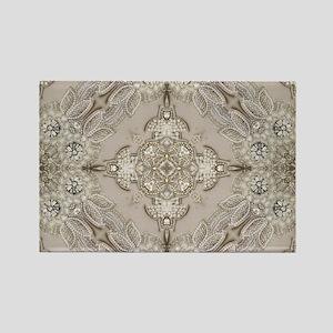 glamorous girly Rhinestone lace pearl Magnets