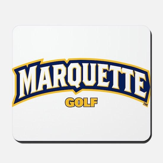 Marquette Golden Eagles Golf Mousepad