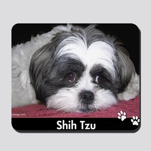 Shih Tzu Dog Photo Mousepad