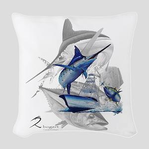 Offshore Woven Throw Pillow