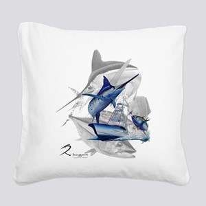 Offshore Square Canvas Pillow