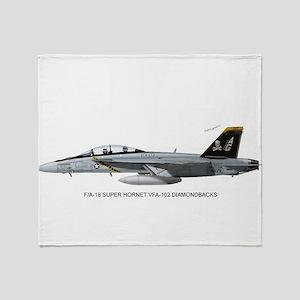 vfa103print Throw Blanket