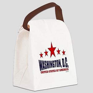Washington, D.C. Canvas Lunch Bag