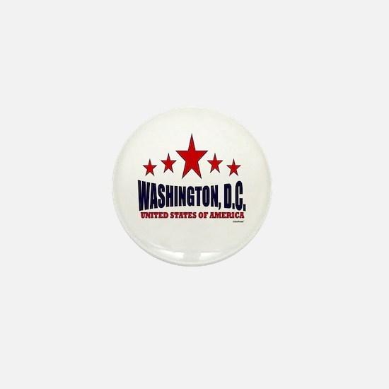Washington, D.C. Mini Button