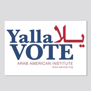 Yalla Vote Postcards (Package of 8)