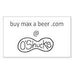 buy max a beer at o'shucks