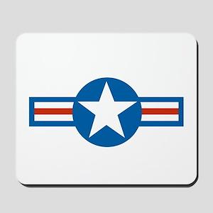usaf_roundel_air_force copy Mousepad