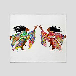 Dance Series Throw Blanket