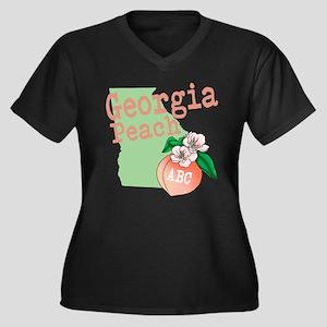 Georgia Peach Plus Size T-Shirt