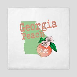 Georgia Peach Queen Duvet