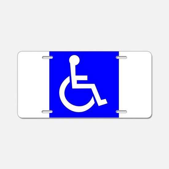 product name Aluminum License Plate