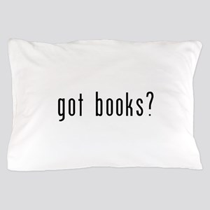 got books black Pillow Case