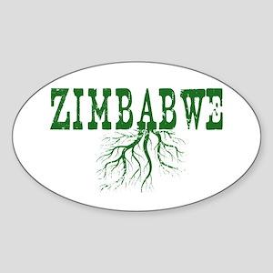Zimbabwe Roots Sticker (Oval)