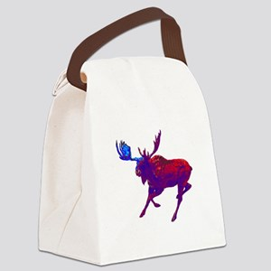 EVENING TIME Canvas Lunch Bag