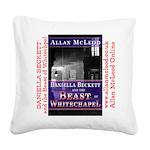 Daniella Beckett Square Canvas Pillow