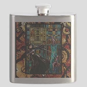 STEAMPUNK WARRIORS Flask