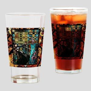 STEAMPUNK WARRIORS Drinking Glass