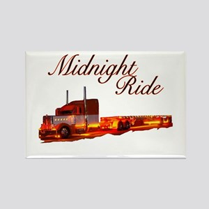 Midnight Ride Rectangle Magnet