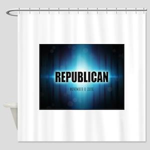 Republican Shower Curtain