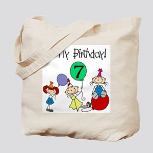 My 7th Birthday Tote Bag