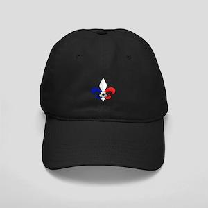 Fleur de lis Football Black Cap