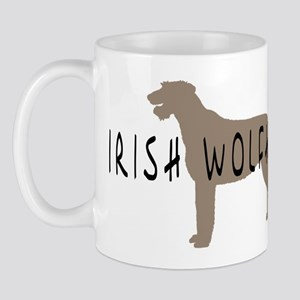 Irish Wolfhound w/ Text Mug