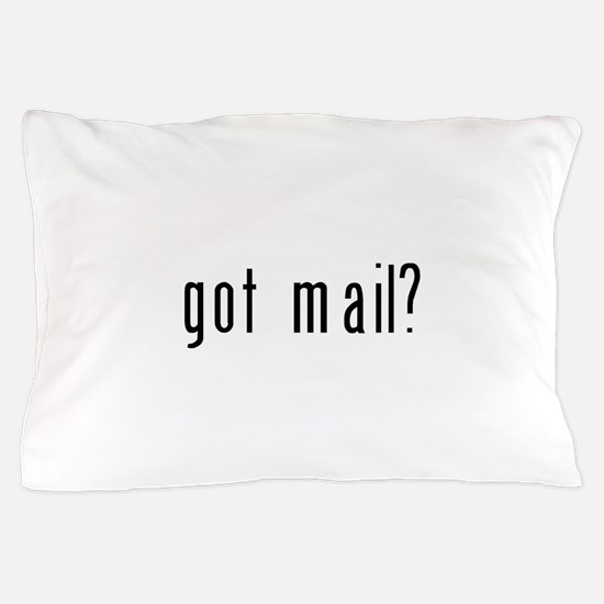got mail black.png Pillow Case