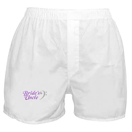 Bride's Uncle(clef) Boxer Shorts