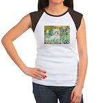 Irises / Coton Women's Cap Sleeve T-Shirt