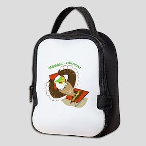 Retirement Eagle Neoprene Lunch Bag