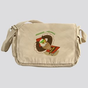 Retirement Eagle Messenger Bag